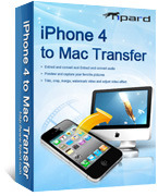 Tipard iPhone 4 to Mac Transfer – Exclusive 15% off Coupon