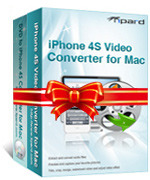Tipard iPhone 4S Converter Suite for Mac Coupons