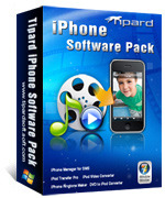 Tipard iPhone Software Pack Coupon 15% Off
