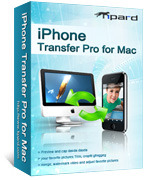 Tipard iPhone Transfer Pro for Mac Coupon Code 15% Off