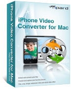 15% Tipard iPhone Video Converter for Mac Coupon