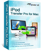 Tipard iPod Transfer Pro for Mac – 15% Sale