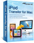 Tipard iPod Transfer for Mac Coupon 15% Off