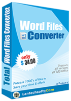 Amazing Total Word Files Converter Discount