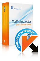 15% – Traffic Inspector+Traffic Inspector Anti-Virus powered by Kaspersky (1 Year) Gold 150