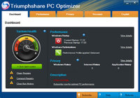 15% OFF – Triumphshare PC Optimizer – 2 PC