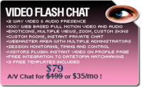 Special Video Flash Chat – Full Source Code Unlimited License Coupon