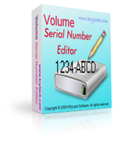 Volume Serial Number Editor UNLIMITED License Coupon