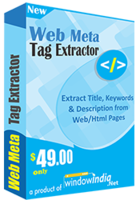 Web Meta Tag Extractor Coupon
