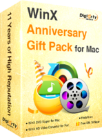 WinX Anniversary Gift Pack for Mac – Exclusive 15 Off Coupon