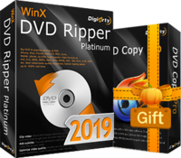 WinX DVD Ripper Platinum  (Lifetime License for 1 PC) Coupon