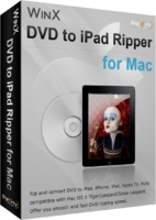 Digiarty Software Inc. – WinX DVD to iPad Ripper for Mac Coupon Deal