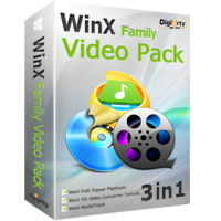 WinX Family Video Pack (for 6 PCs) Coupons