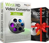 WinX HD Video Converter Deluxe  (Lifetime License for 1 PC) Coupon Code