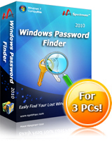 10% Off Windows Password Finder 2010(Special Sale) Coupon Code