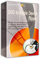 Exclusive WonderFox DVD to Apple Device Ripper Coupons