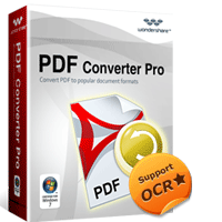 Wondershare PDF Converter Pro for Windows Coupon – 30%