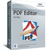 Wondershare Software Co. Ltd. – Wondershare PDF Editor for Mac Sale