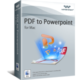 Wondershare Software Co. Ltd. Wondershare PDF to PowerPoint for Mac Coupon