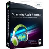 Wondershare Streaming Audio Recorder Coupon Code
