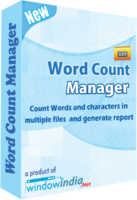 Exclusive Word Count Manager Coupon Code