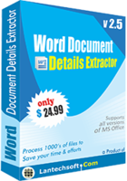 LantechSoft – Word Document Details Extractor Coupon Deal