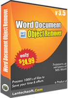 LantechSoft – Word Document Object Remover Coupon Deal