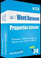 Special Word Document Properties Extractor Coupons