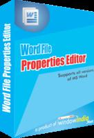 Word File Properties Editor Coupons