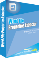 Window India – Word File Properties Extractor Coupons