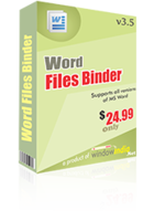 Word Files Binder Coupon