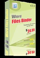 Word Files Binder Coupon