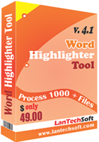 LantechSoft Word Highlighter Tool Coupons