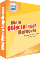 Word Object and Image Remover Coupon