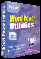Exclusive Word Power Utilities Coupons