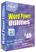 Word Power Utilities – Unique Coupons