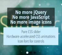 cssSlider – Pure CSS Slider –  No jQuery no JavaScript no coding! cssSlider.com Coupon