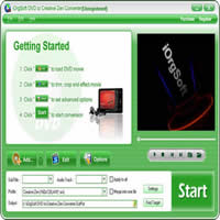 iOrgSoft DVD to Creative Zen Converter Coupon Code – 50%