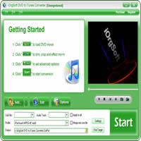 50% iOrgSoft DVD to iTunes Converter Coupon Code