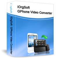 iOrgSoft GPhone Video Converter Coupon – 40%