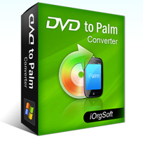 iOrgsoft DVD to Palm Converter Coupon – 40%