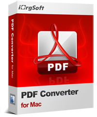 50% OFF iOrgsoft PDF Converter for Mac Coupon