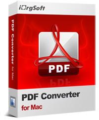 50% OFF iOrgsoft PDF Converter for Mac Coupon