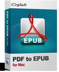 iOrgsoft PDF to Epub Converter for Mac Coupon Code – 50%