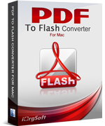 50% iOrgsoft PDF to Flash Converter for Mac Coupon