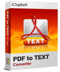 50% Off iOrgsoft PDF to Text Converter Coupon