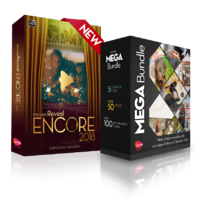15% off – muvee Reveal Encore + Mega Bundle; ALL 62 Styles + 10 Cinematic Titles and more than 120 music tracks
