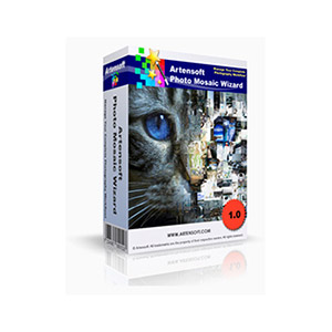 Artensoft Artensoft Photo Mosaic Wizard (Business License) Coupon Code