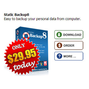 Static Backup8 Coupon – $20